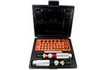 KT-130 Utica Torque Limiting Standard Model Screwdriver 43 Piece Kit
